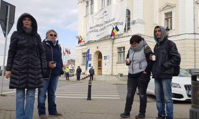 protest CA Alba Iulia