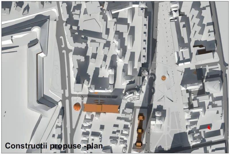 constructii propuse plan