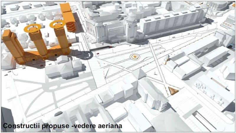 constructii propuse vedere aeriana
