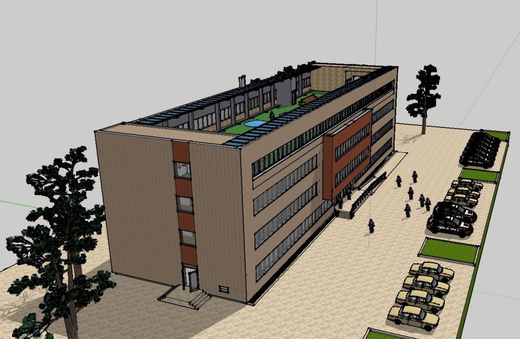 Spitalul de psihiatrie la Alba Iulia, cu terasă la ultimul nivel. PUD pentru investiția de 3,7 milioane euro, la aprobat în CL