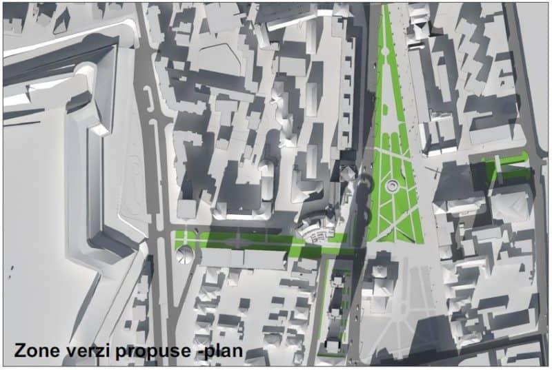 zone verzi propuse plan