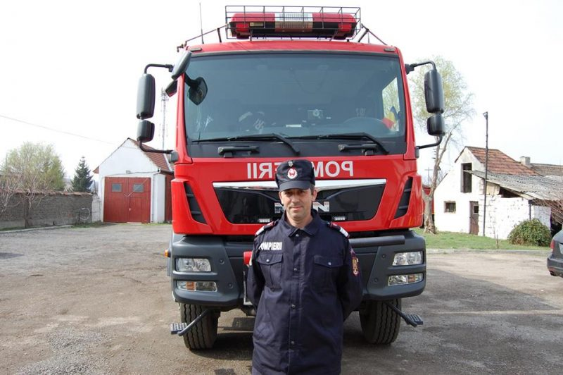 pompier sebes