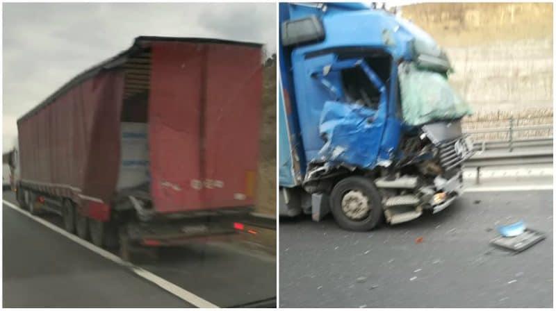 accident tir autostrada