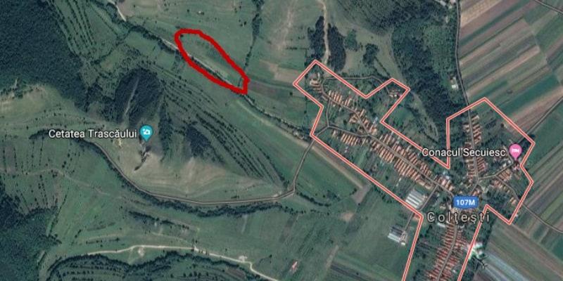 locatie gunoaie ilegal coltesti