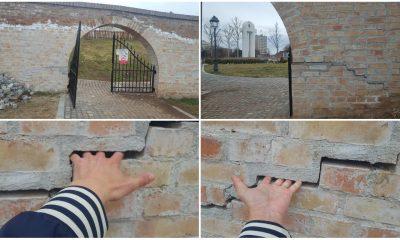 zid caramida crapat