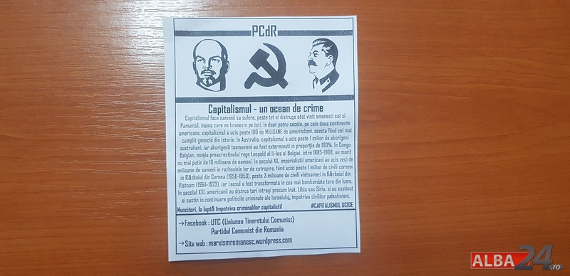 flyere comuniste