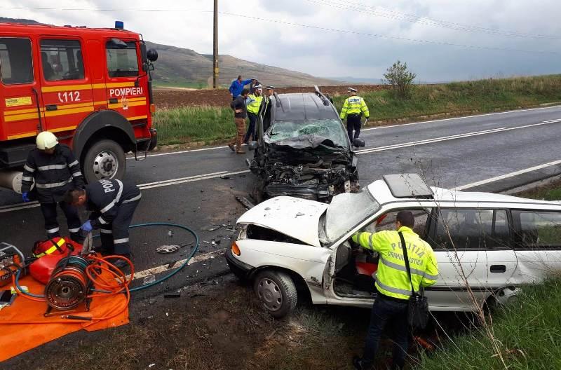 accident DN1 Rahau