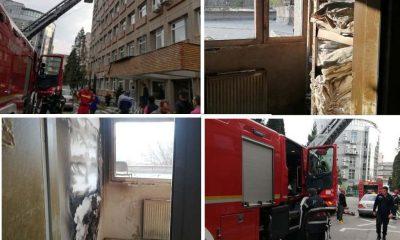 incendiu spital alba iulia