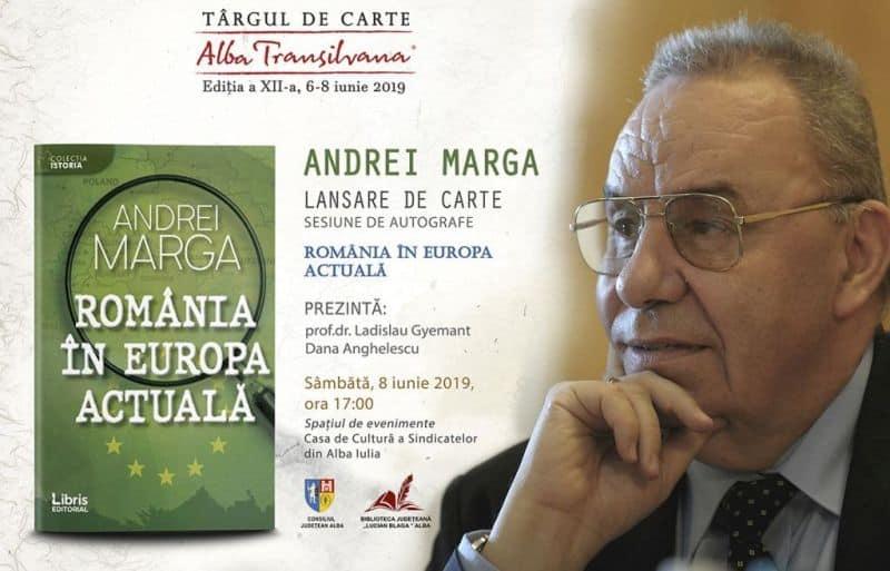 Andrei Marga - lansare de carte