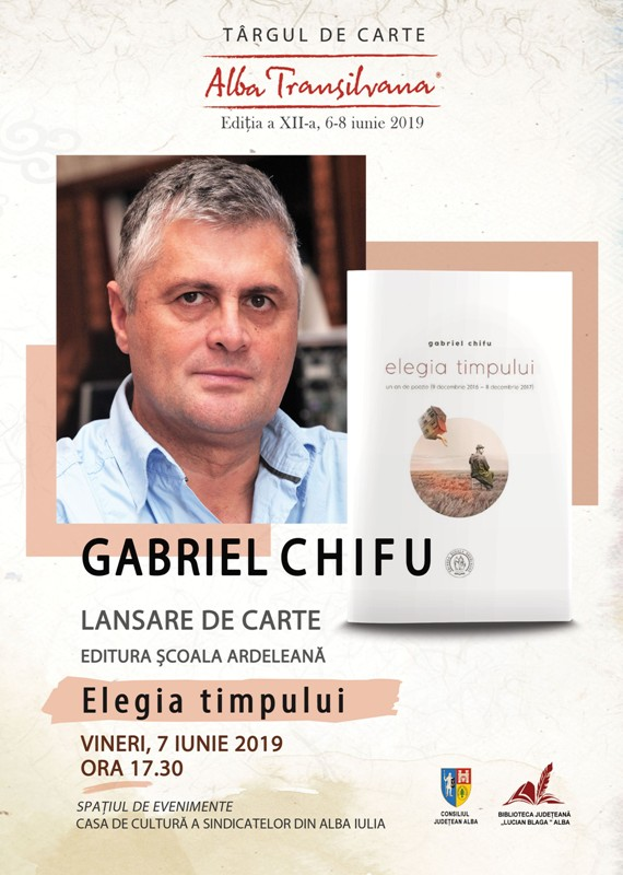 Gabriel-Chifu lansare carte