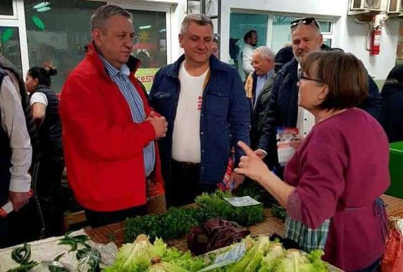 Ioan Dirzu, piata