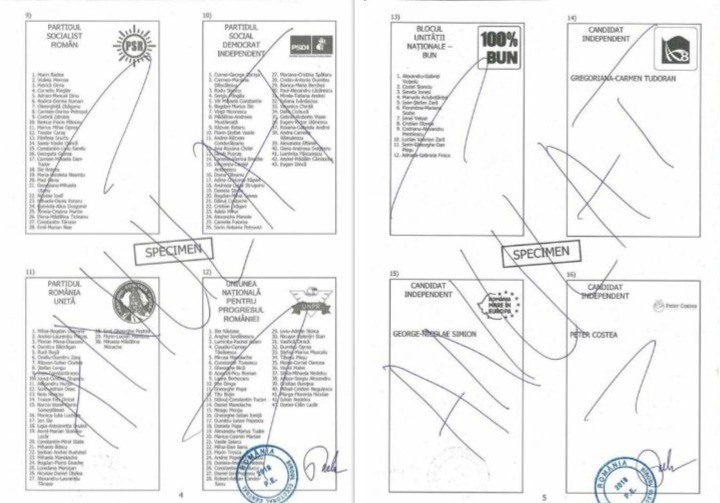 buletin vot europarlamentare 2019 pag 4-5