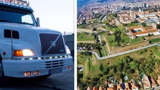 camioane tunate cetate