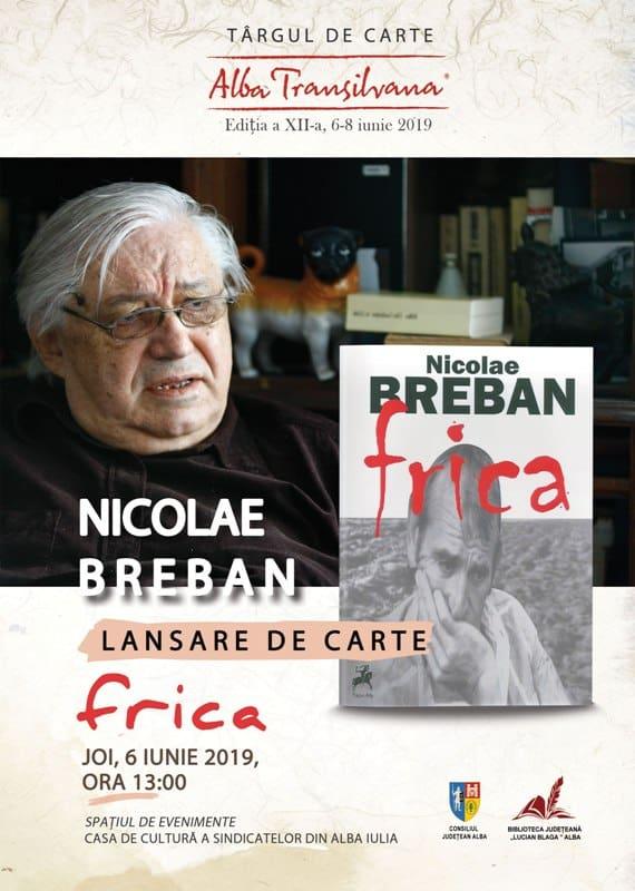 Nicolae Breban Frica