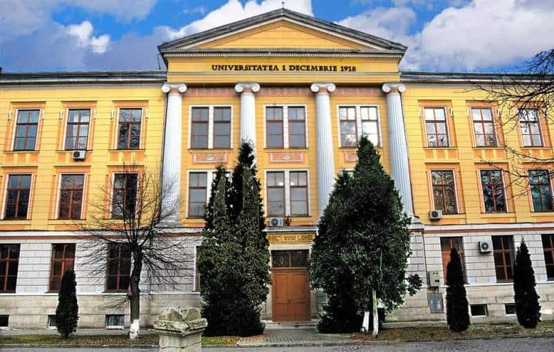 sediu UAB Universitatea 1 Decembrie 1918 Alba Iulia
