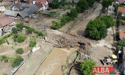 Pianu de Sus inundat 1