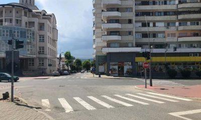 intersectie trecere pietoni semafoare goldis 1 dec alba Iulia