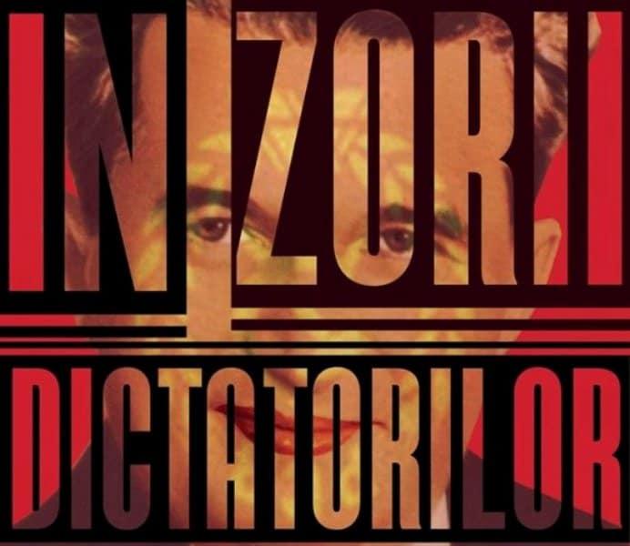 Afis teatru In zorii dictatorilor