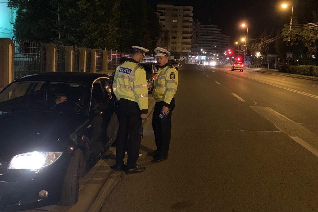 politisti noaptea etilotest