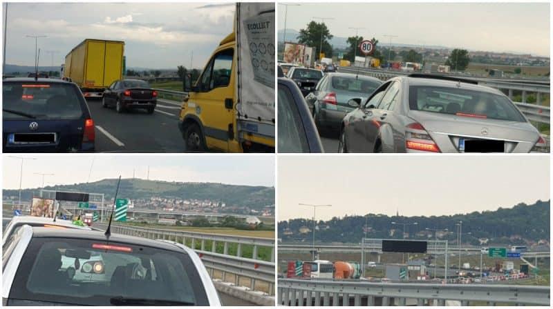 autostrada coloana