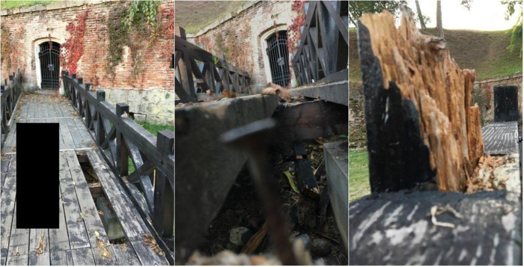 pericol cetatea albacarolina