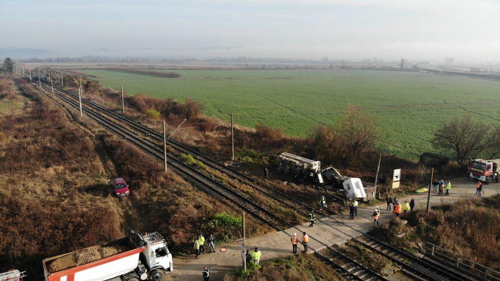 accident tren camion