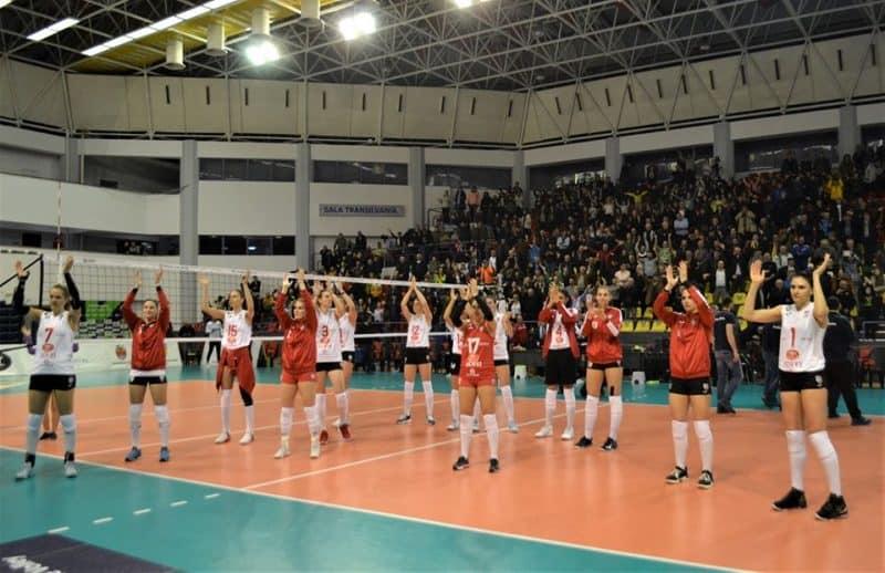 VIDEO: Victorie pentru Volei Alba Blaj, în Liga Campionilor, împotriva Vasas Röplabda Budapesta