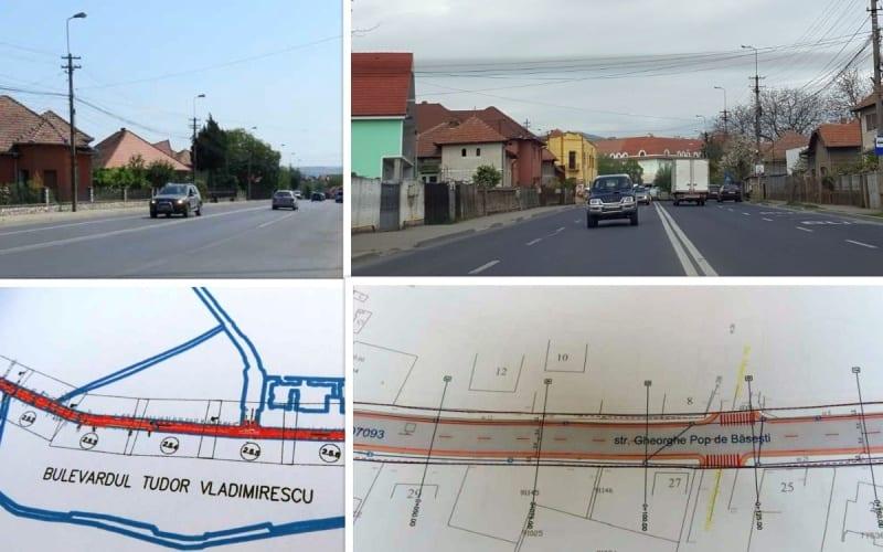 Treceri de pietoni cu senzori, străzi cu 4 benzi, piste de biciclete, sisteme CCTV la Alba Iulia. Când încep lucrările