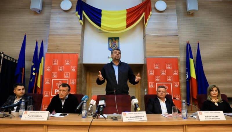 Sondaj surprinzător, prezentant la CEx-ul PSD. Ce procente au partidele mari și ce formațiuni nu trec pragul electoral