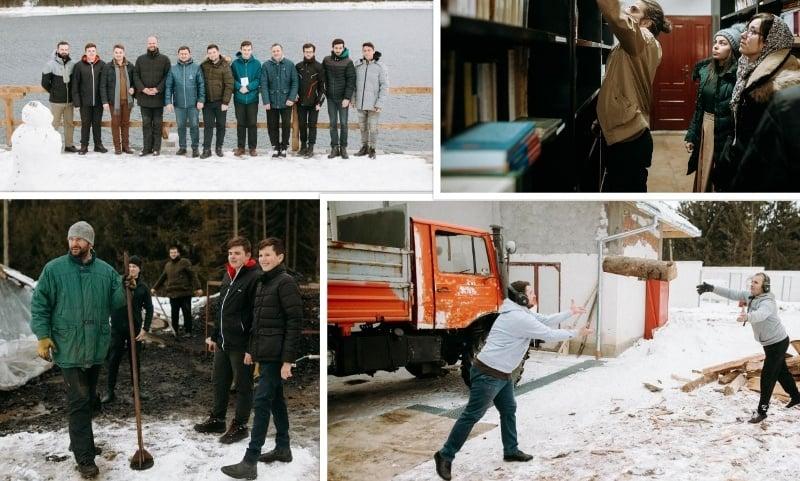 FOTO-VIDEO: Studenții de la Teologie, în tabără la Mănăstirea Oașa. ASCOR a sărbătorit 30 de ani de activitate