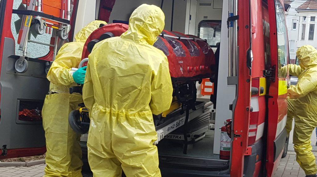 UPDATE: AL DOILEA caz CONFIRMAT de coronavirus, în Alba. Persoana infectată este internată la spitalul din Alba Iulia