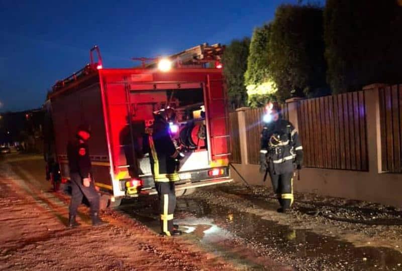 """FOTO/ Albaiulian, impresionat de intervenția pompierilor la un incendiu: """"Am remarcat, empatie, coordonare și siguranță"""""""