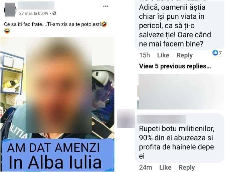 Trei tineri din Alba Iulia, cu dosare penale, după o postare cu informații false pe Facebook