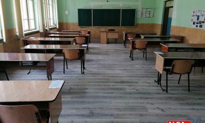 sala clasa liceu examen